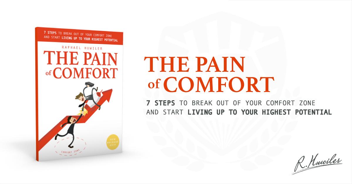 The Pain of comfort Raphael Huwiler Halifax Nova Scotia Author
